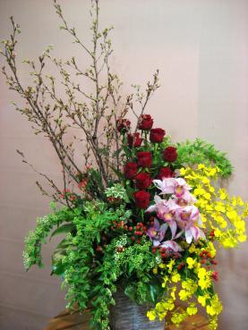 東海桜、バラ(メインキャスト)、シンビジューム、オンシジューム、コデマリ