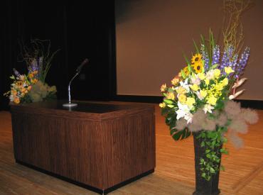 ステージ装花2