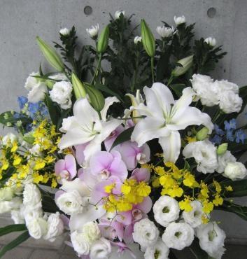葬儀用生花 和、洋MIX