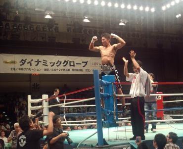 中川大資日本ミドル級チャンピオン