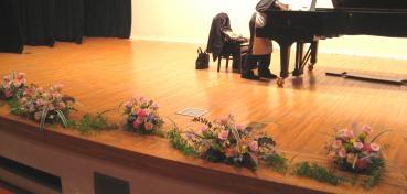 ステージ装花1